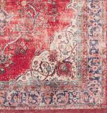 Nouristan Perzisch tapijt - Farah Tabriz Creme Rood