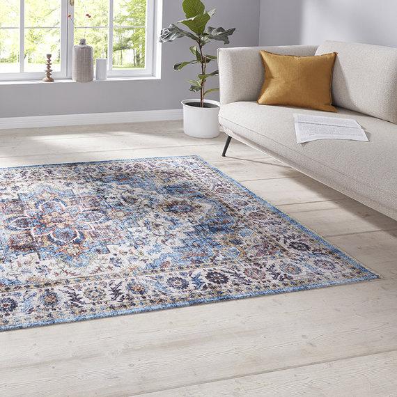 Nouristan Perzisch tapijt - Farah Tabriz Blauw