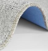 Effen loper - Comfort Woolop Lichtgrijs