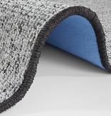 Effen loper - Comfort Woolop Antraciet