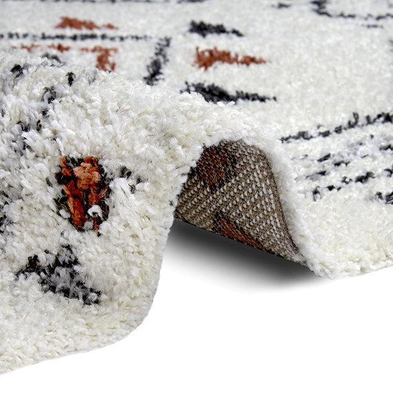 Mint Rugs Hoogpolig vloerkleed - Essential Hurley Creme