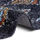 Mint Rugs Hoogpolig vloerkleed - Essential Phoenix Zwart
