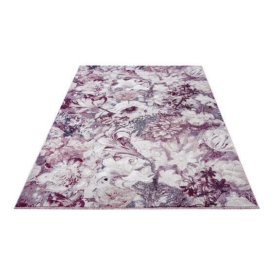 Mint Rugs Bloemen vloerkleed - Romance Symphony Roze Creme