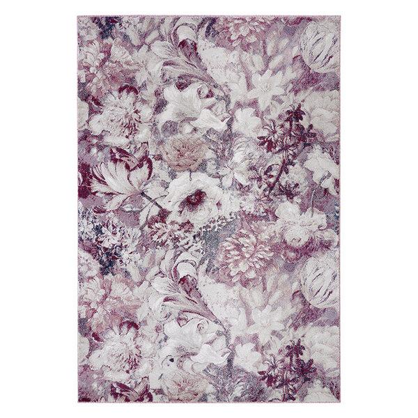 Bloemen vloerkleed - Romance Symphony Roze Creme