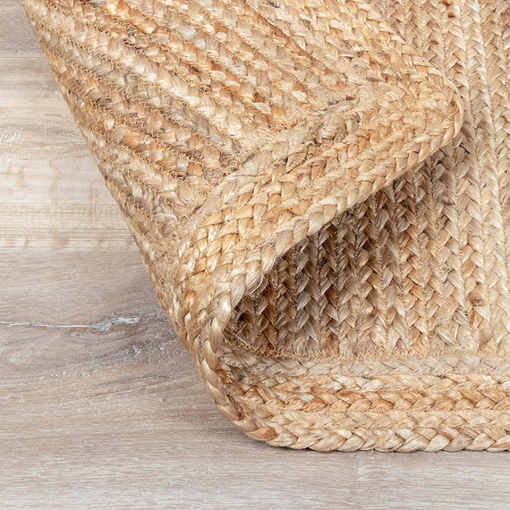 FRAAI Jute vloerkleed - Fair vierkant naturel