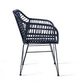 Lifa Living Rotan stoel - Rodri Zwart Set/2