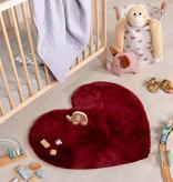 FRAAI Kindervloerkleed - Huggy Hart Rood