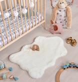 FRAAI Kindervloerkleed - Huggy Schaap Wit