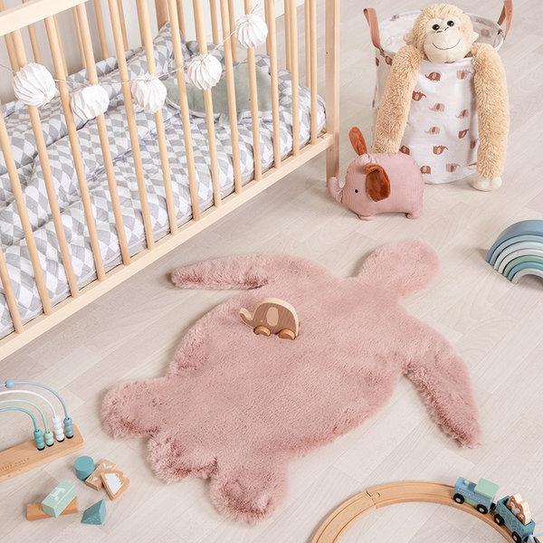 FRAAI Kindervloerkleed - Huggy Schildpad Roze