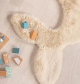 FRAAI Kindervloerkleed - Huggy Walvis Creme