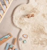 FRAAI Kindervloerkleed - Huggy Wolk Creme