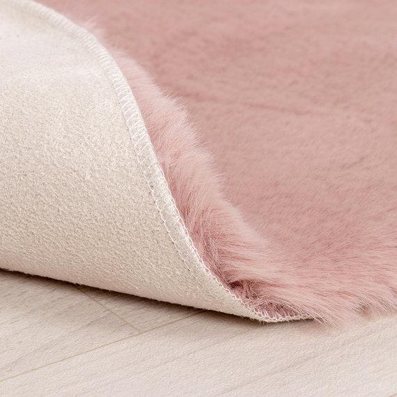 FRAAI Kindervloerkleed - Huggy Wolk Roze