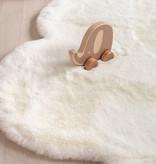 FRAAI Kindervloerkleed - Huggy Wolk Wit