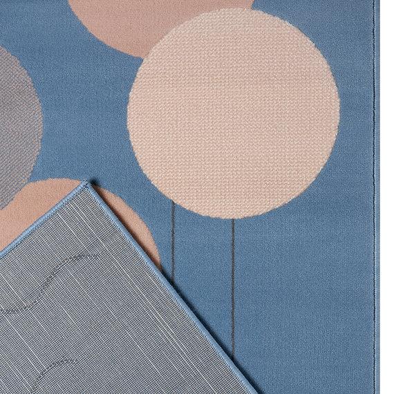 Hanse Home Kindervloerkleed - Lara Walvis Blauw