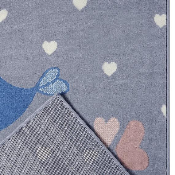 Hanse Home Kindervloerkleed - Lara Vogels Grijs