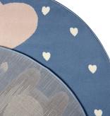 Hanse Home Rond kindervloerkleed - Lara Koalabeer Blauw