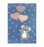 Hanse Home Kindervloerkleed - Lara Koalabeer Blauw