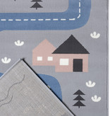 Hanse Home Speelkleed - Lara Autoweg Grijs Blauw