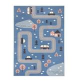 Hanse Home Speelkleed - Lara Autoweg Blauw