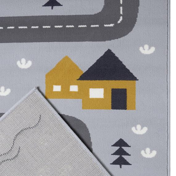 Hanse Home Speelkleed - Lara Autoweg Grijs