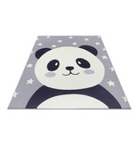 Hanse Home Kindervloerkleed - Lara Panda Grijs