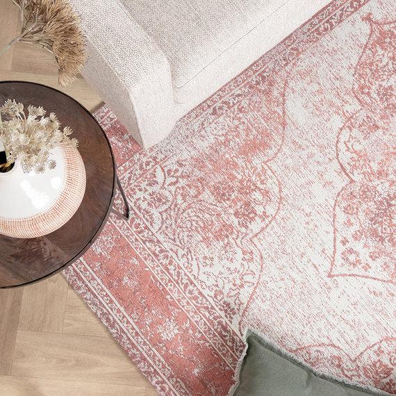 FRAAI Vintage vloerkleed - Admire Roze