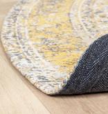FRAAI Rond Vintage vloerkleed - Admire Geel