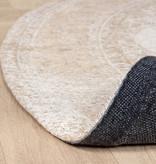 FRAAI Rond Vintage vloerkleed - Admire Beige
