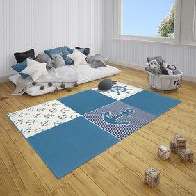Hanse Home Kindervloerkleed - Lara Multi Blauw