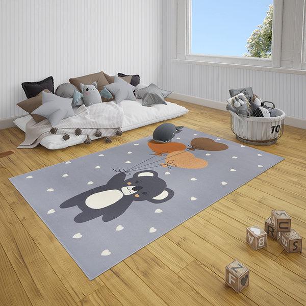 Hanse Home Kindervloerkleed - Lara Koalabeer Grijs