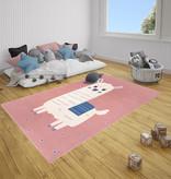 Hanse Home Kindervloerkleed - Lara Lama Roze