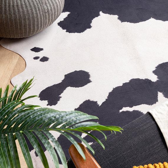 FRAAI Koeienhuid - Bovine Zwart/Wit