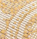 FRAAI Rond Buitenkleed - Summer Oriental Geel