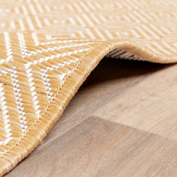 FRAAI Buitenkleed - Summer Tile Geel