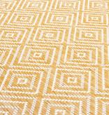 FRAAI Vloerkleed - Summer Tile Geel