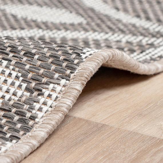 FRAAI Vloerkleed - Summer Pattern Grijs