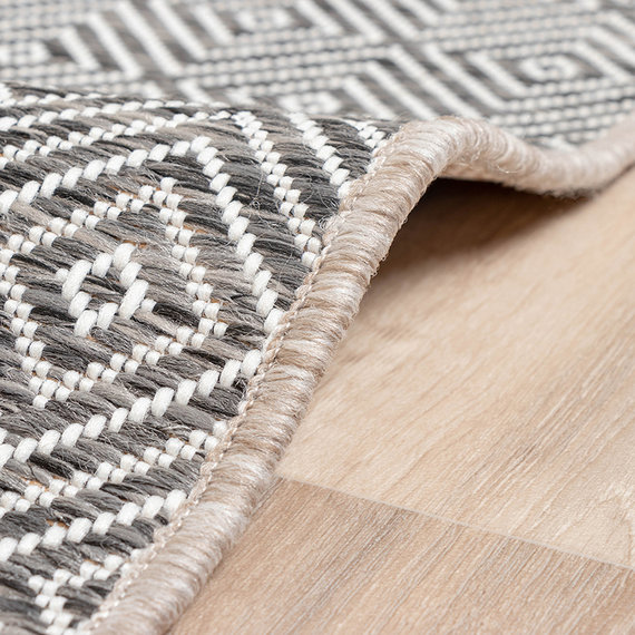FRAAI Buitenkleed - Summer Tile Grijs