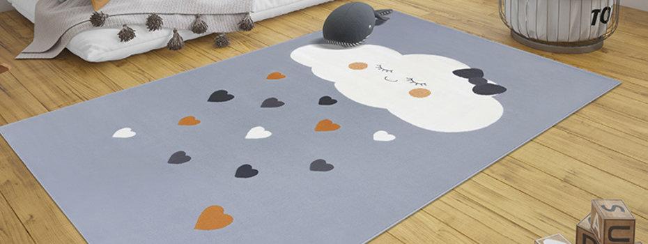 Inspiratie: Vloerkleed babykamer