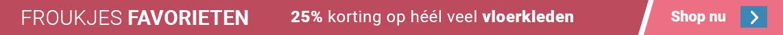 Froukjes Favorieten - 25% korting op heel veel vloerkleden
