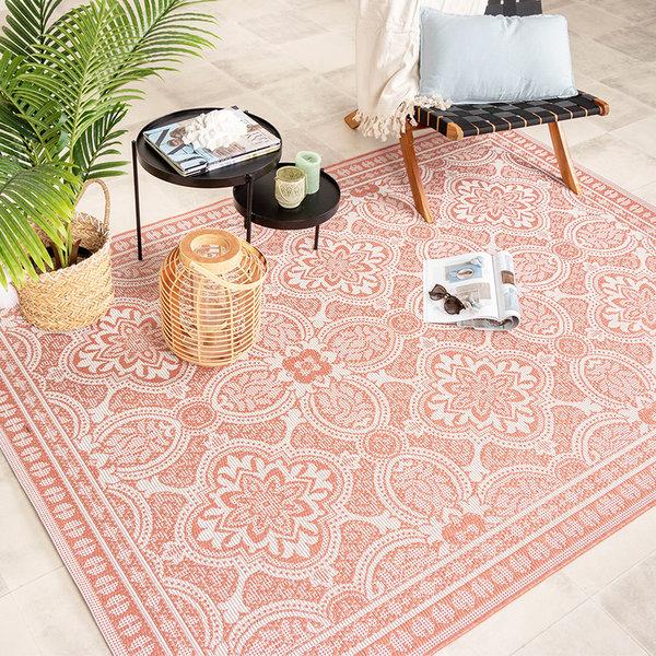 Buitenkleed - Summer Oriental Roze