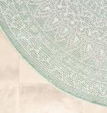 FRAAI Rond Buitenkleed - Summer Azteca Mint