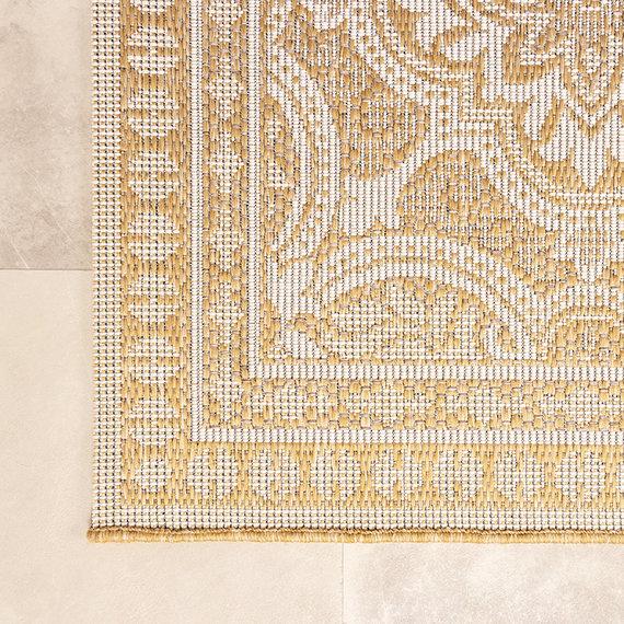 FRAAI Buitenkleed - Summer Oriental Geel