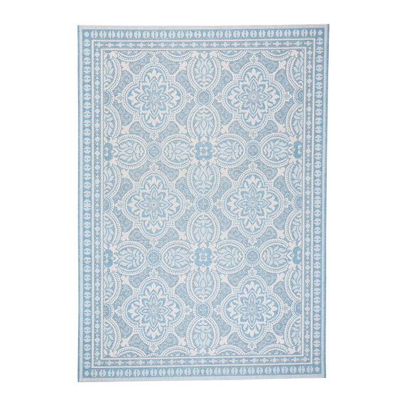 FRAAI Buitenkleed - Summer Oriental Lichtblauw
