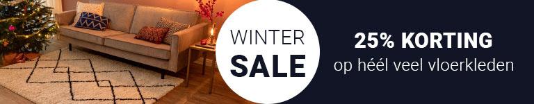 Winter SALE - 25% korting op heel veel vloerkleden