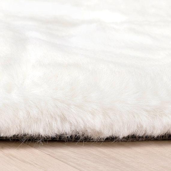 FRAAI Zachte Hoogpolige loper - Comfy Wit