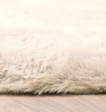 FRAAI Zachte Hoogpolige loper - Comfy Creme