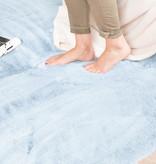 FRAAI Zacht Hoogpolig vloerkleed - Comfy Lichtblauw