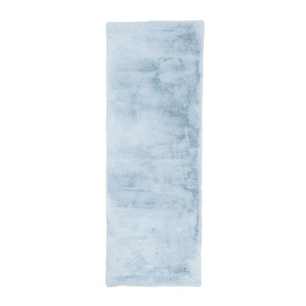 Zachte Hoogpolige loper - Comfy Lichtblauw