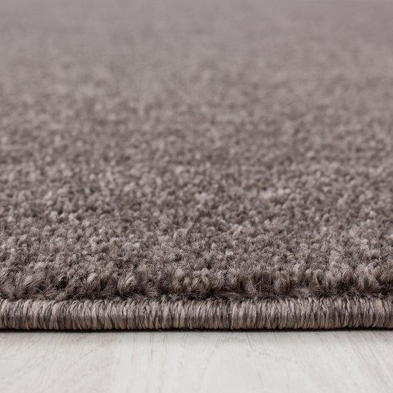 Adana Carpets Rond laagpolig vloerkleed - Asa Mokka