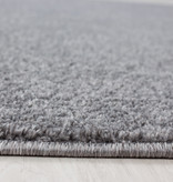 Adana Carpets Rond laagpolig vloerkleed - Asa Lichtgrijs